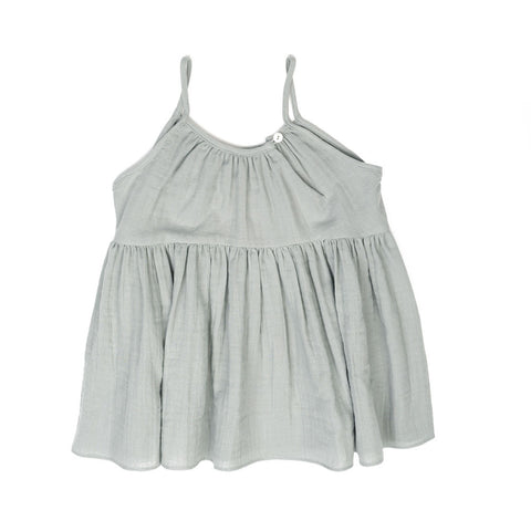 Soor Ploom Birdie Girl's Tunic in Moonstone | BIEN BIEN