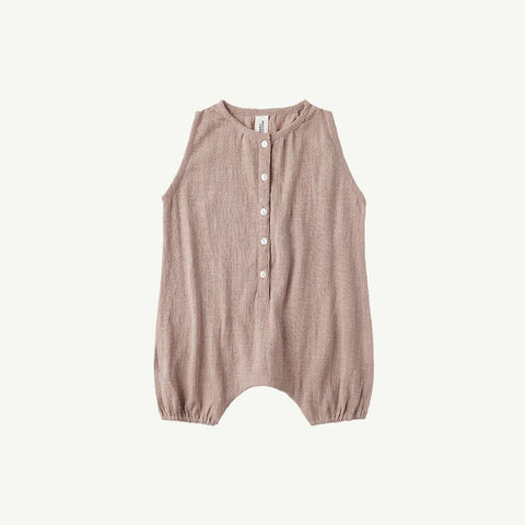 Summer & Storm Baby Sleeveless Romper Cotton Mushroom | BIEN BIEN