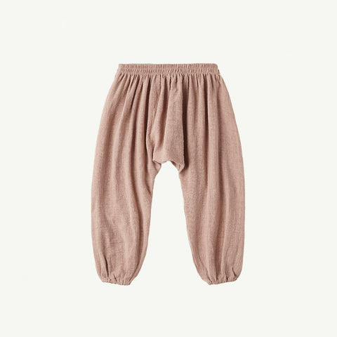 Summer & Storm Kid's Harem Pant Cotton Mushroom | BIEN BIEN