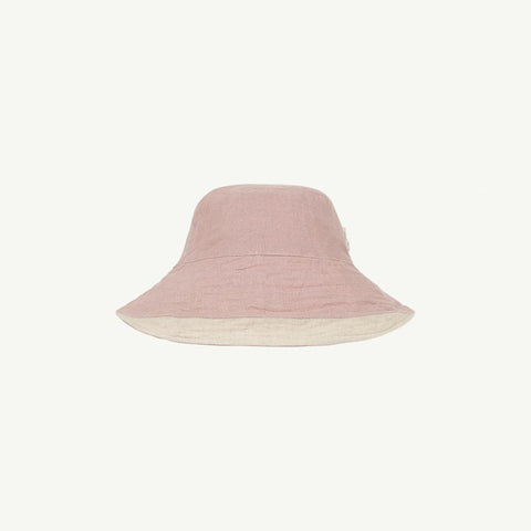 Summer & Storm Kid Wire Brim Sun Hat Natural Beige Lilac | BIEN BIEN