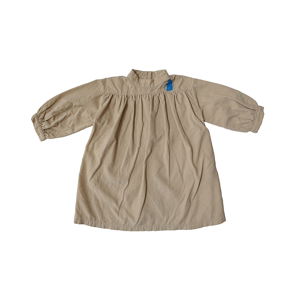 Tambere Esther Kid's Corduroy Dress in Beige | BIEN BIEN