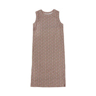 Tambere Kid's Tank Dress Pink Floral Cotton | BIEN BIEN www.bienbienshop.com