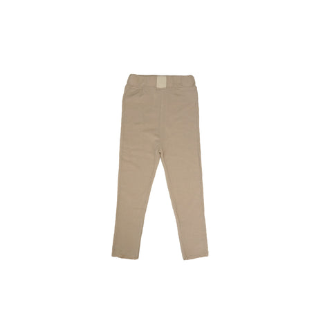 Tambere Liel Kid's Leggings in Creamy Beige  | BIEN BIEN