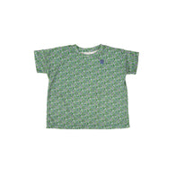 Tambere Bellin Kid's T-Shirt Green Floral Cotton | BIEN BIEN www.bienbienshop.com