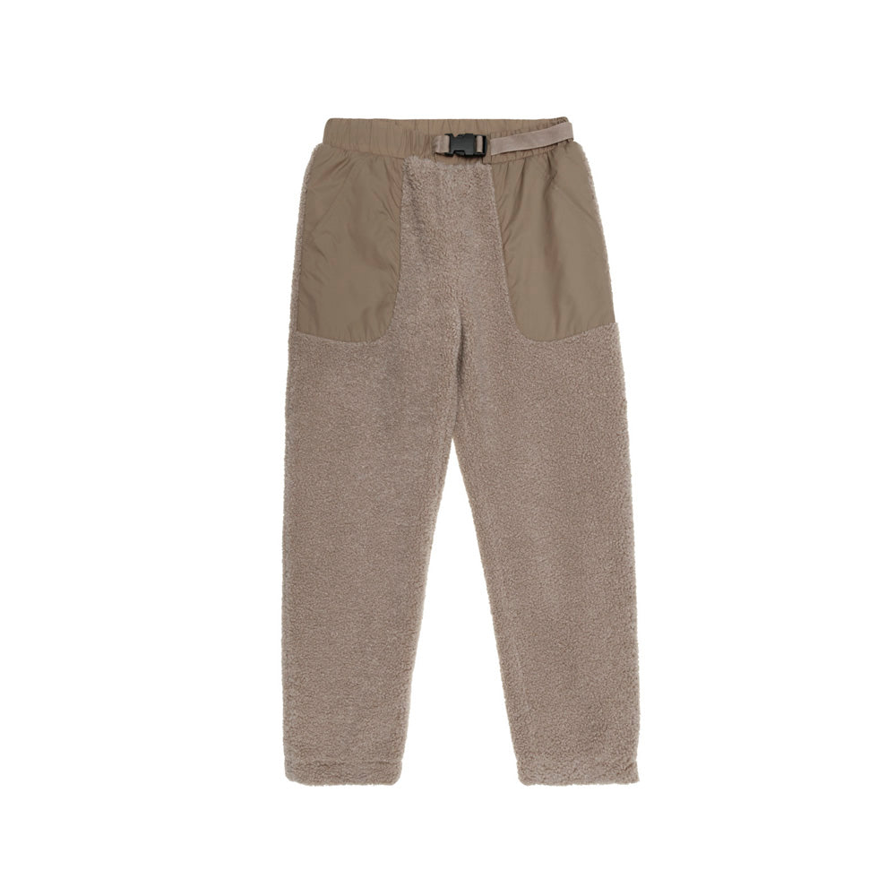 The New Society Ewan Kid's Teddy Shearling Pants Camel | BIEN BIEN www.bienbienshop.com