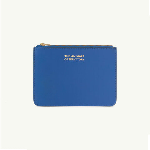 The Animals Observatory Kid's Leather Purse Blue/Gold - NEW - BIEN BIEN bienbienshop.com