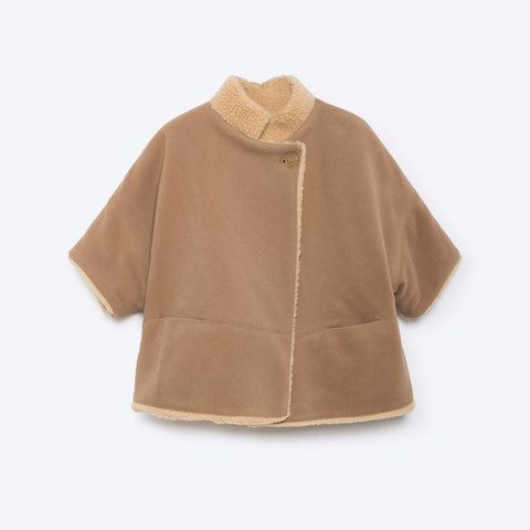 The Animals Observatory Tibet Kid's Coat in Camel | BIEN BIEN