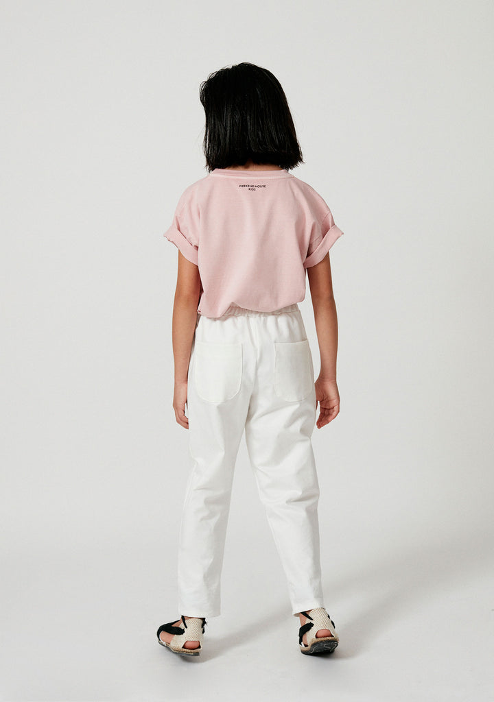 Weekend House Kids New Swan Kid's Tee Pastel Pink NEW | BIEN BIEN bienbienshop.com