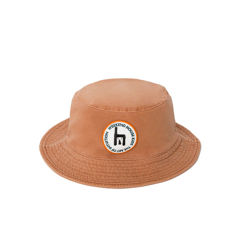 Weekend House Kids Logo Embroidered Patch Kid's Bucket Hat | BIEN BIEN bienbienshop.com