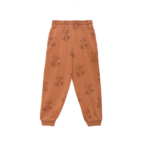 Weekend House Kids Peggy Kid's Pant Brick Organic Cotton | BIEN BIEN bienbienshop.com