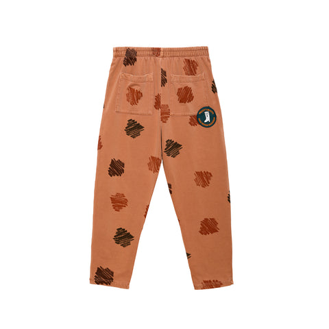Weekend House Kids Peggy Kid's Paint Pant Brick Organic | BIEN BIEN bienbienshop.com