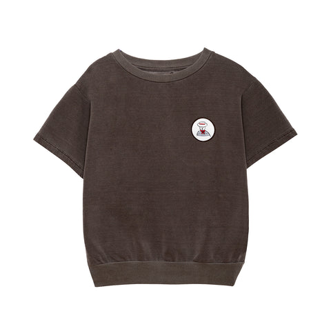 Weekend House Kids Gondolier Kid's Sweatshirt Brown Organic Cotton NEW | BIEN BIEN bienbienshop.com
