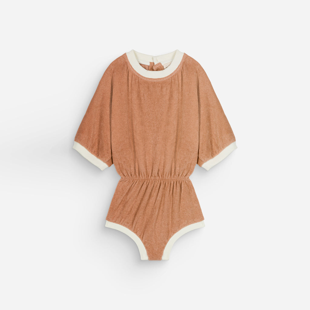 NEW We Are Kids Romy Kid's Terry Combi Romper Sunkiss | BIEN BIEN