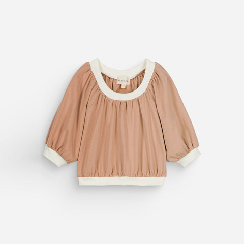 NEW We Are Kids Maguy Kid's Puff Sleeve Blouse Top Sunkiss | BIEN BIEN