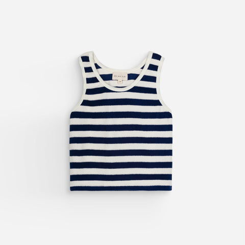 NEW We Are Kids Marcel Kid Terry Tank Top Marinero Stripe | BIEN BIEN