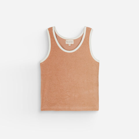 NEW We Are Kids Marcel Kid's Terry Tank Top Sunkiss | BIEN BIEN