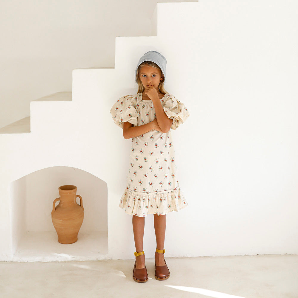 Yoli & Otis Alda Kid's Dress French Floral Cotton | BIEN BIEN bienbienshop.com