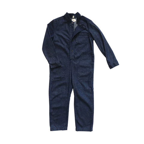 Zap Denim Jumpsuit