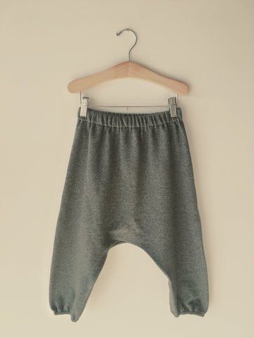 Boy+Girl Drop Crotch Kid's Lounge Pant Charcoal