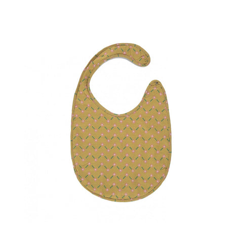 Caramel London Baby Bib in Primrose Forget Me Not | BIEN BIEN