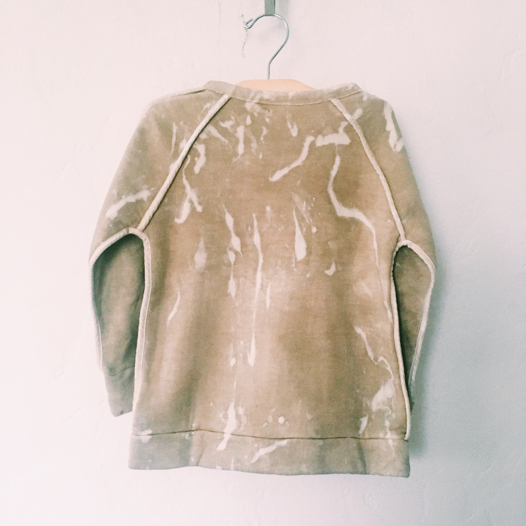 Outer Seams Fleece Sweatshirt