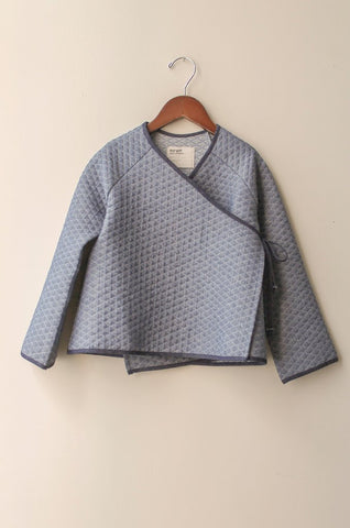 boy+girl Kimono Kid's Jacket in Chambray Quilt | BIEN BIEN