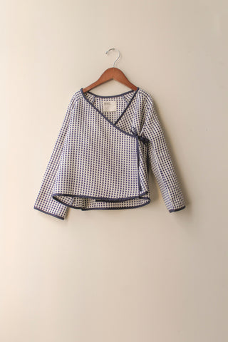 boy+girl Kimono Kid's Jacket in Ribbon | BIEN BIEN