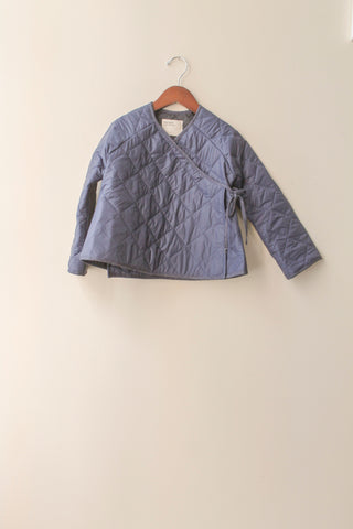 boy+girl Kimono Kid's Jacket in Navy Puff | BIEN BIEN