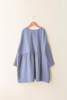 boy+girl Una Girl's Dress in Navy | BIEN BIEN