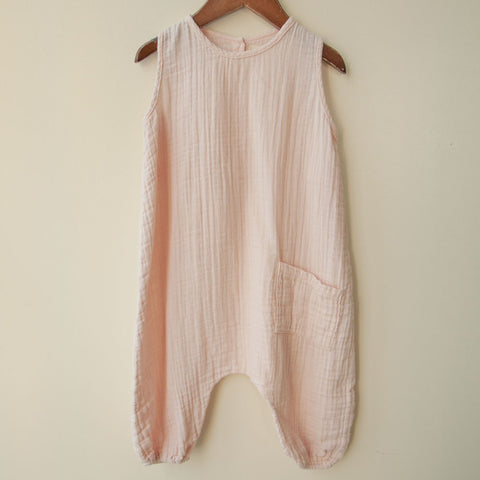 boy+girl Baby Girl Jumper in Cotton Candy | BIEN BIEN
