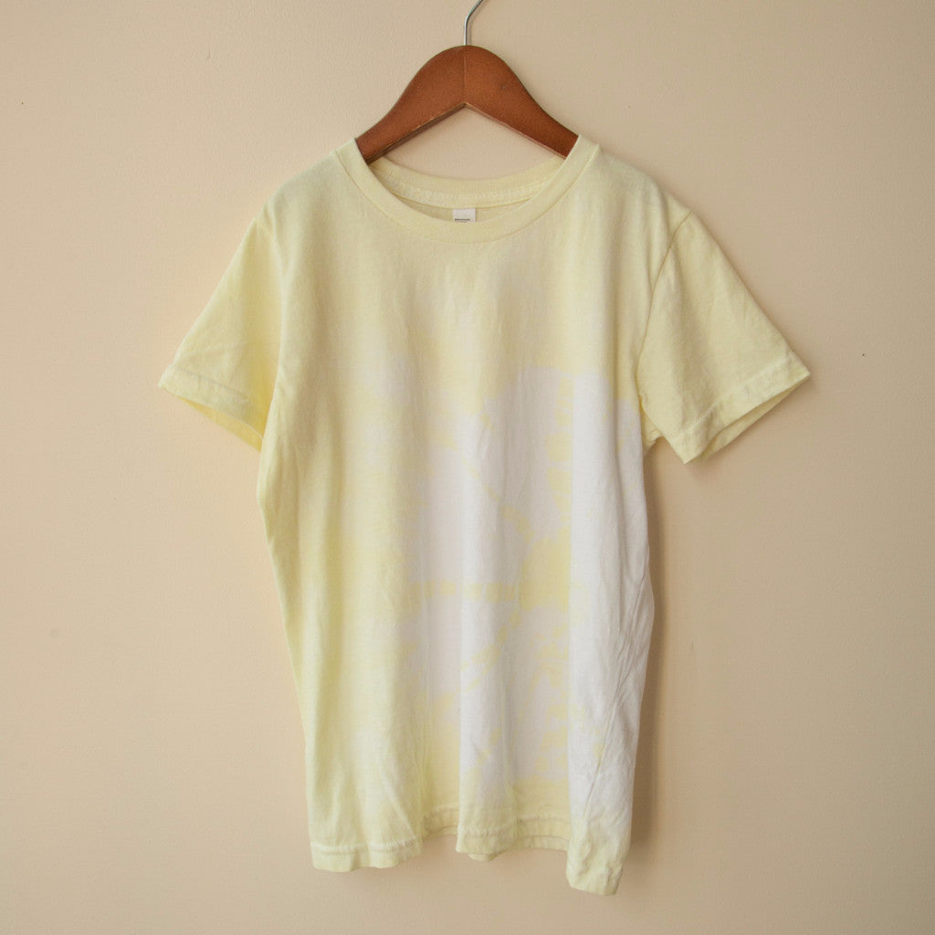 boy+girl Dash Organic Unisex T-Shirt in Lemon | BIEN BIEN