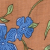 BrownBlueFloral