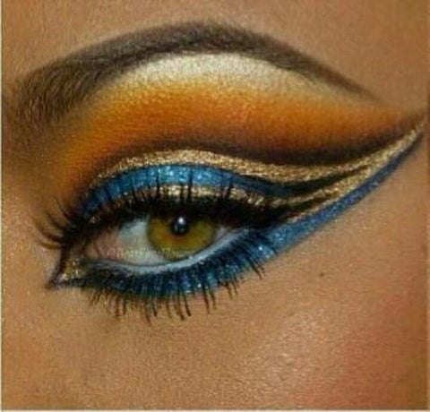 Image of Ancient Egyptian Eye Makeup