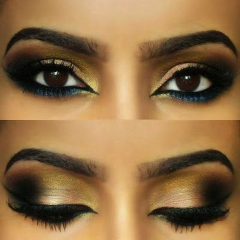 Image of Arabic Eye Makeup