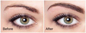 Image of Eyebrow Extension Transformation