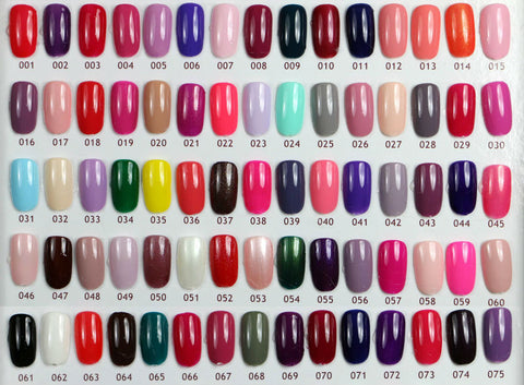Image of Nail Colors