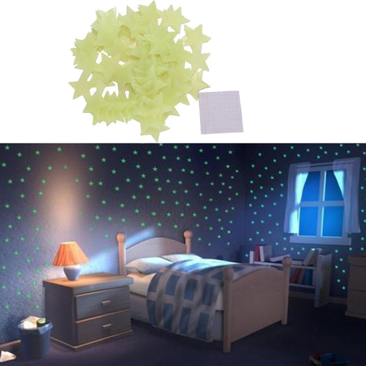 Glow In The Dark Stars (100 Pcs)