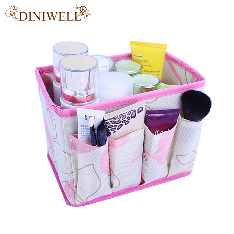 Foldable Cosmetics Storage Organizer