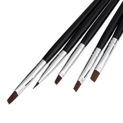 Nail Art Brush Set (5 pcs)