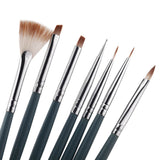 Professional Nail Art Brush Set (7 pcs)