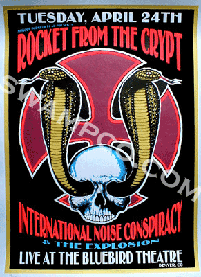 ROCKET FROM THE CRYPT / INTERNATIONAL NOISE CONSPIRACY