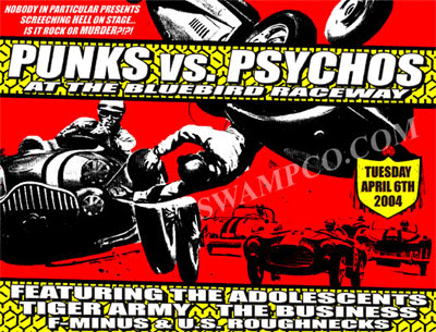 PUNK VS. PSYCHOS