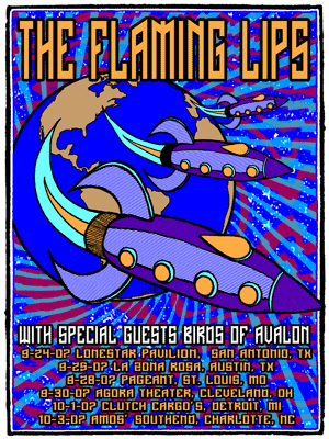FLAMING LIPS TOUR SET