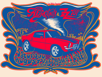 Aerosmith w/ ZZ Top