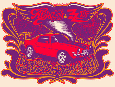 Aerosmith w/ ZZ Top - Variant