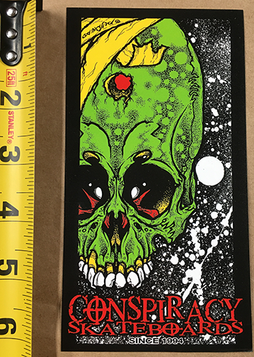 ALIEN SHOT STICKER