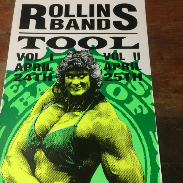 TOOL / ROLLINS BAND