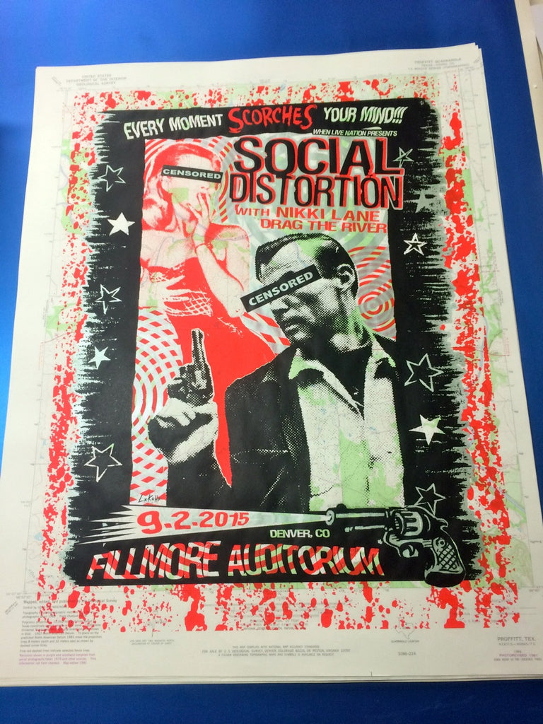 SOCIAL DISTORTION MAP VARIANT