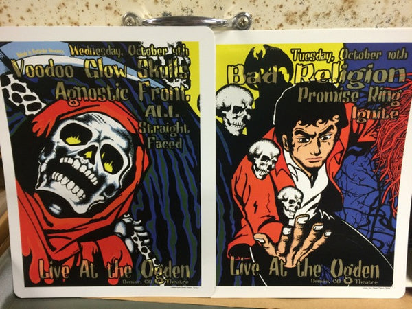 SEASON OF THE WITCH HANDBILLS 2000