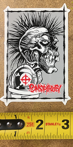 Pushead Stickers